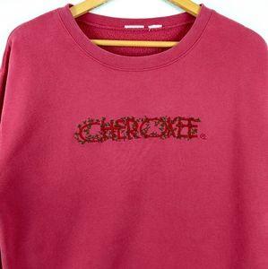 Vtg Cherokee Heavyweight 90s Biker Sweatshirt